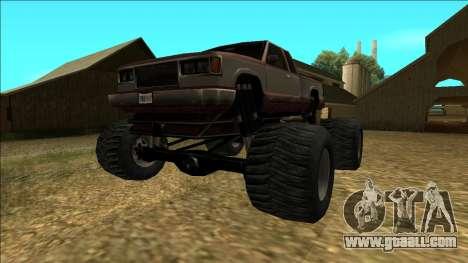 New Yosemite v2 Monster for GTA San Andreas back left view