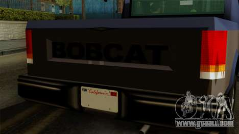 Bobcat from Vice City Stories IVF for GTA San Andreas right view