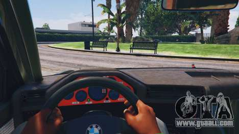 GTA 5 1991 BMW E30 Drift Edition v1.1 rear right side view