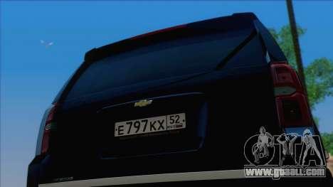 Chevrolet Suburban FSB for GTA San Andreas right view