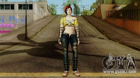 Dead Or Alive 5 Last Round Mila for GTA San Andreas second screenshot