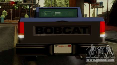 Bobcat from Vice City Stories IVF for GTA San Andreas interior