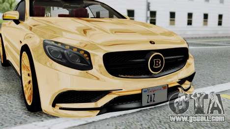 Brabus 850 Gold for GTA San Andreas side view