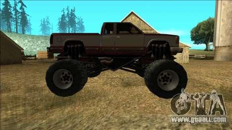 New Yosemite v2 Monster for GTA San Andreas inner view