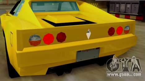 Cheetah from Vice City Stories IVF for GTA San Andreas bottom view