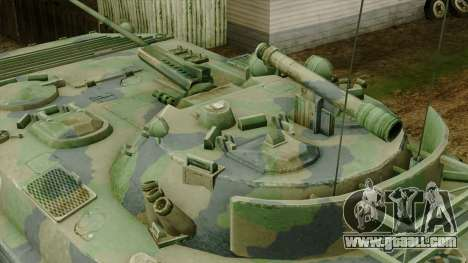 CoD 4 MW 2 BMP-2 Woodland for GTA San Andreas right view