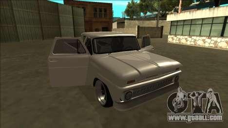Chevrolet C10 Drift for GTA San Andreas upper view