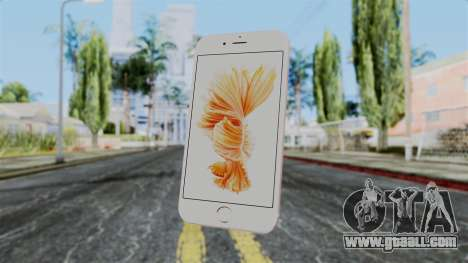 iPhone 6S Rose Gold for GTA San Andreas third screenshot