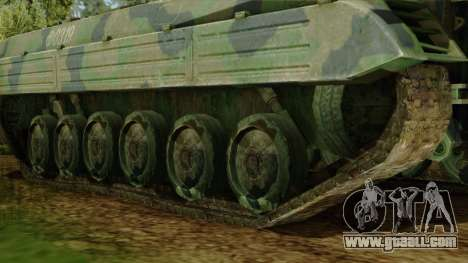 CoD 4 MW 2 BMP-2 Woodland for GTA San Andreas back left view