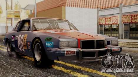 Pontiac GranPrix Hotring 1981 for GTA San Andreas