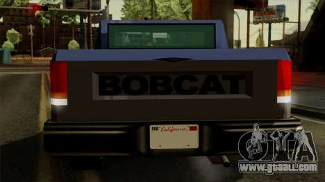 Bobcat from Vice City Stories IVF for GTA San Andreas bottom view
