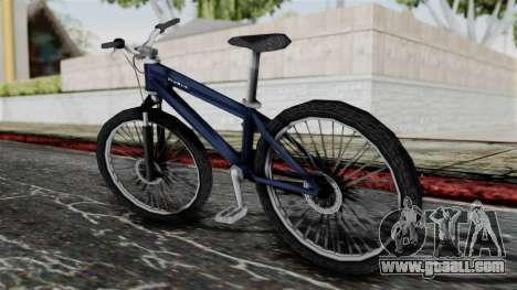 Mountain Bike from Bully for GTA San Andreas left view