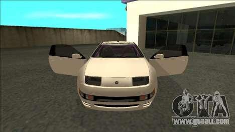 Nissan 300ZX Drift Monster Energy for GTA San Andreas inner view