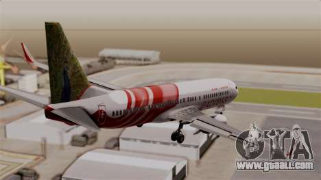 Boeing 737-800 Air India Express for GTA San Andreas left view