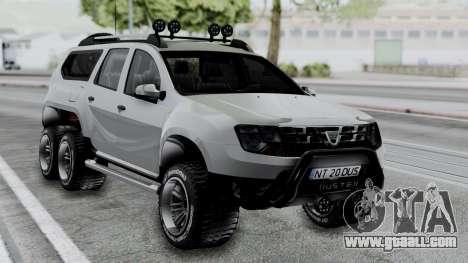 Dacia Duster Terranger 6x6 for GTA San Andreas