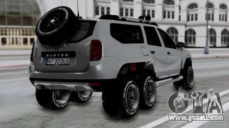 Dacia Duster Terranger 6x6 for GTA San Andreas left view