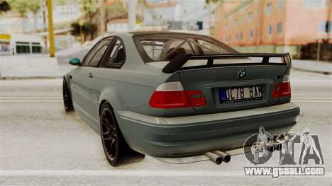 BMW M3 E46 GTR 2005 Stock for GTA San Andreas left view