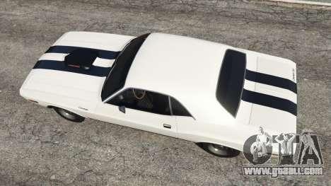 GTA 5 Dodge Challenger RT 440 1970 v1.0 back view