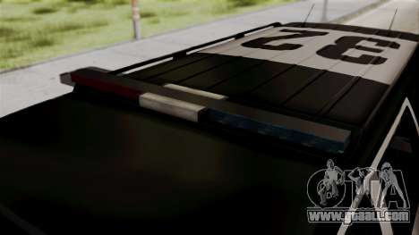 Sheriff Granger Police GTA 5 for GTA San Andreas right view