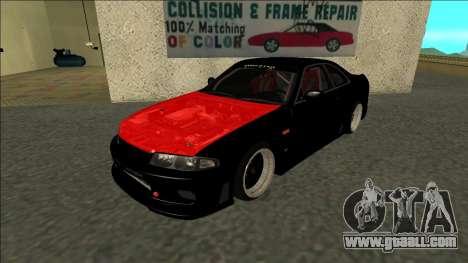 Nissan Skyline R33 Monster Energy for GTA San Andreas
