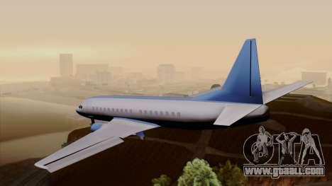 AT-400 Air India for GTA San Andreas left view