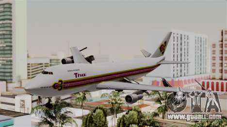 Boeing 747-200 Thai Airways for GTA San Andreas