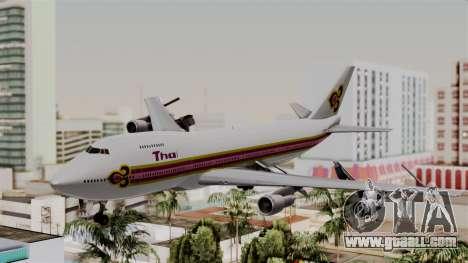 Boeing 747-200 Thai Airways for GTA San Andreas
