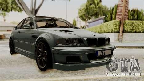 BMW M3 E46 GTR 2005 Stock for GTA San Andreas