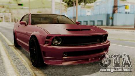GTA 5 Vapid Dominator IVF for GTA San Andreas
