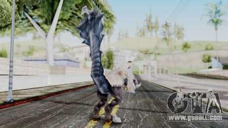 Ogretail from God Eater for GTA San Andreas third screenshot