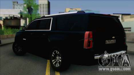 Chevrolet Suburban FSB for GTA San Andreas left view