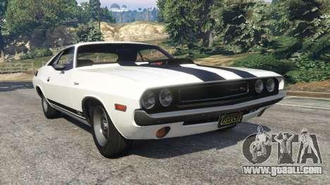 Dodge Challenger RT 440 1970 v1.0 for GTA 5