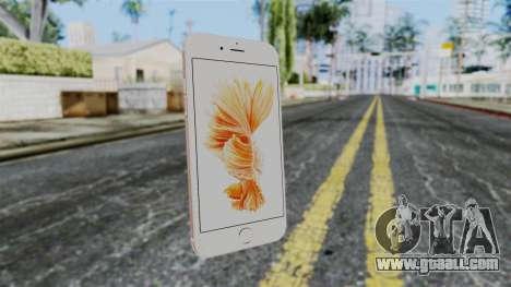 iPhone 6S Rose Gold for GTA San Andreas