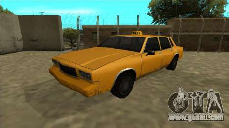 Tahoma Taxi for GTA San Andreas back left view