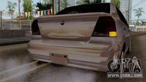 GTA 5 Declasse Asea for GTA San Andreas upper view