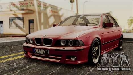 BMW 530D E39 2001 Mtech for GTA San Andreas