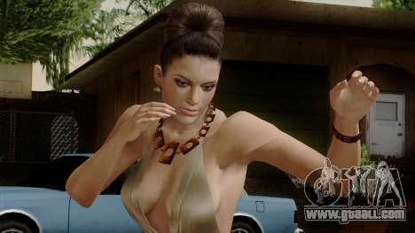 RE5 Excella Gione for GTA San Andreas