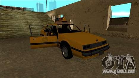Willard Taxi for GTA San Andreas engine