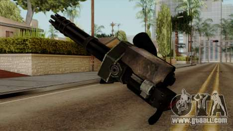 Gatling for GTA San Andreas second screenshot