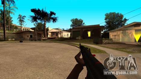 AK-47 Red Line from CS:GO for GTA San Andreas forth screenshot