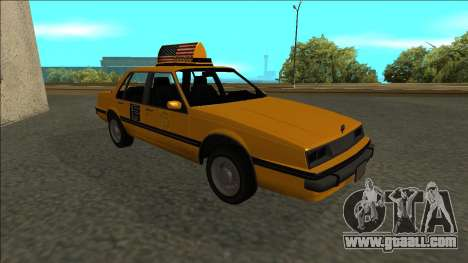 Willard Taxi for GTA San Andreas side view