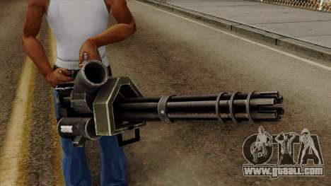 Gatling for GTA San Andreas third screenshot