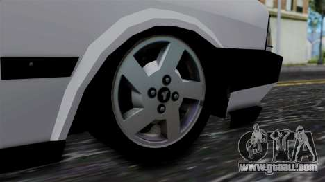 LV Copcar Civil for GTA San Andreas back left view