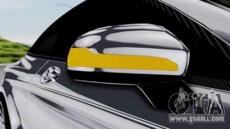 Brabus 850 Chrome for GTA San Andreas upper view