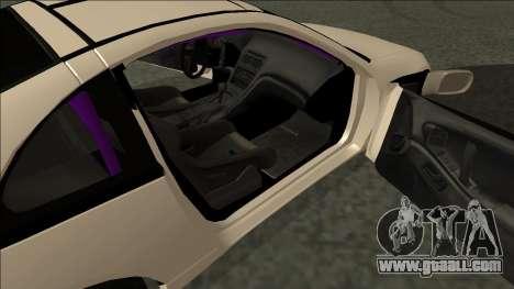 Nissan 300ZX Drift Monster Energy for GTA San Andreas back left view