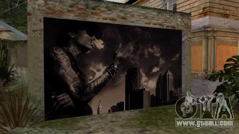 Johnson House Garage - Wiz Khalifa for GTA San Andreas