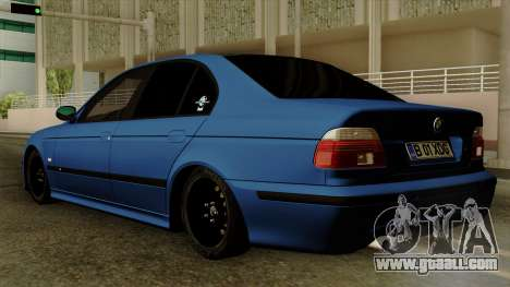 BMW M5 E39 Bucharest for GTA San Andreas left view
