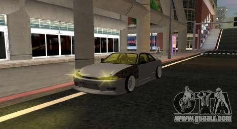 Nissan Silvia S14 JDM v0.1 for GTA San Andreas