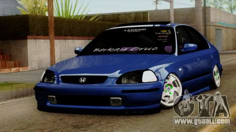 Honda Civic Sedan B. O. Construction for GTA San Andreas