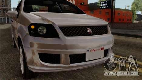 GTA 5 Declasse Asea for GTA San Andreas inner view